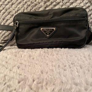 Authentic Black Prada Nylon Belt Bag!!